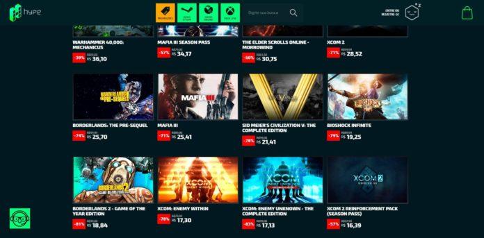 A Hype Games está com promoções de até 81%